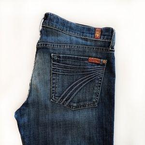 7FAMK Dojo Jeans Size 29